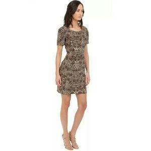 The Kooples Silk Leopard Dress